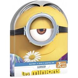 Combo BLU-RAY/DVD Les Minions